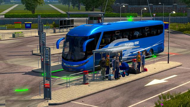Bus Stations [1 31 x]   ETS2 mods   Euro truck simulator 2