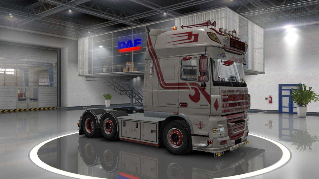 DAF XF 105 by Stanley 1 4 - Update + templates | ETS2 mods