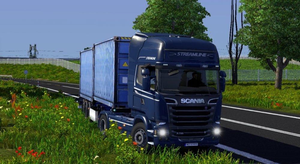 ENB Graphics Mod HD 2 0 for ETS2 (1 30 x)   ETS2 mods   Euro truck