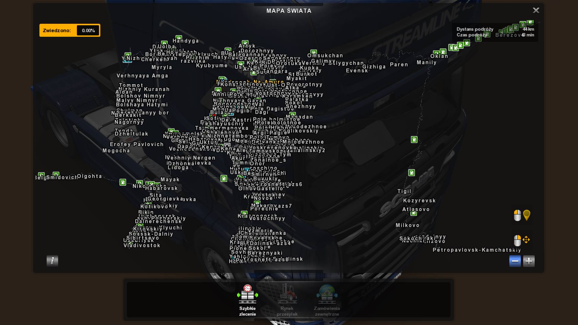English City Names Harsh Russian Baikal ETS2 mods