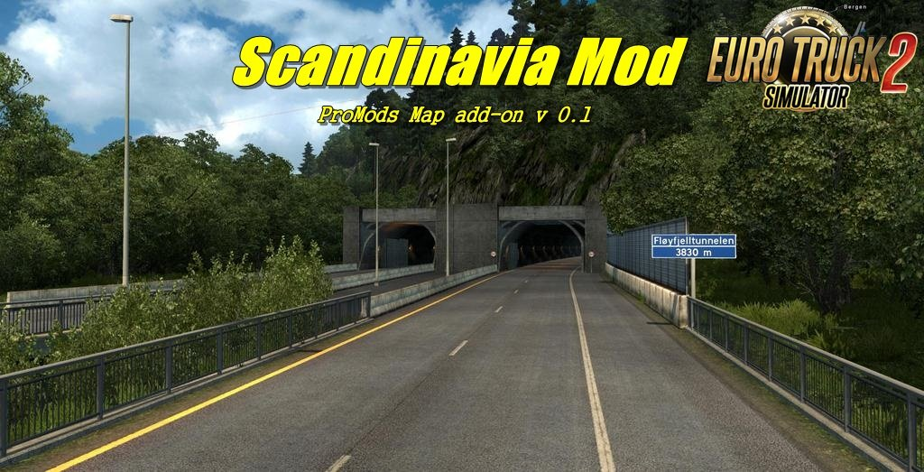 Scandinavia Mod, ProMods 2 20 add-on v 0 1 | ETS2 mods | Euro truck
