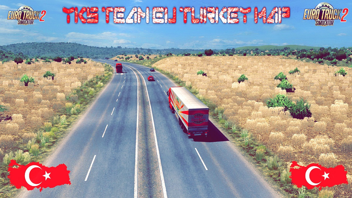 EU - Turkey Map by YKS Team [1 31 x] | ETS2 mods | Euro truck
