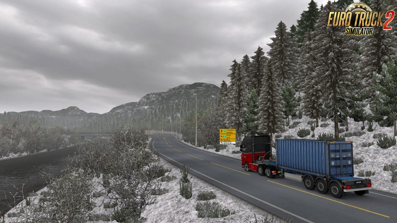 Winter Addon for Realistic Graphics Mod 2 0 1 (by Frkn64) v0