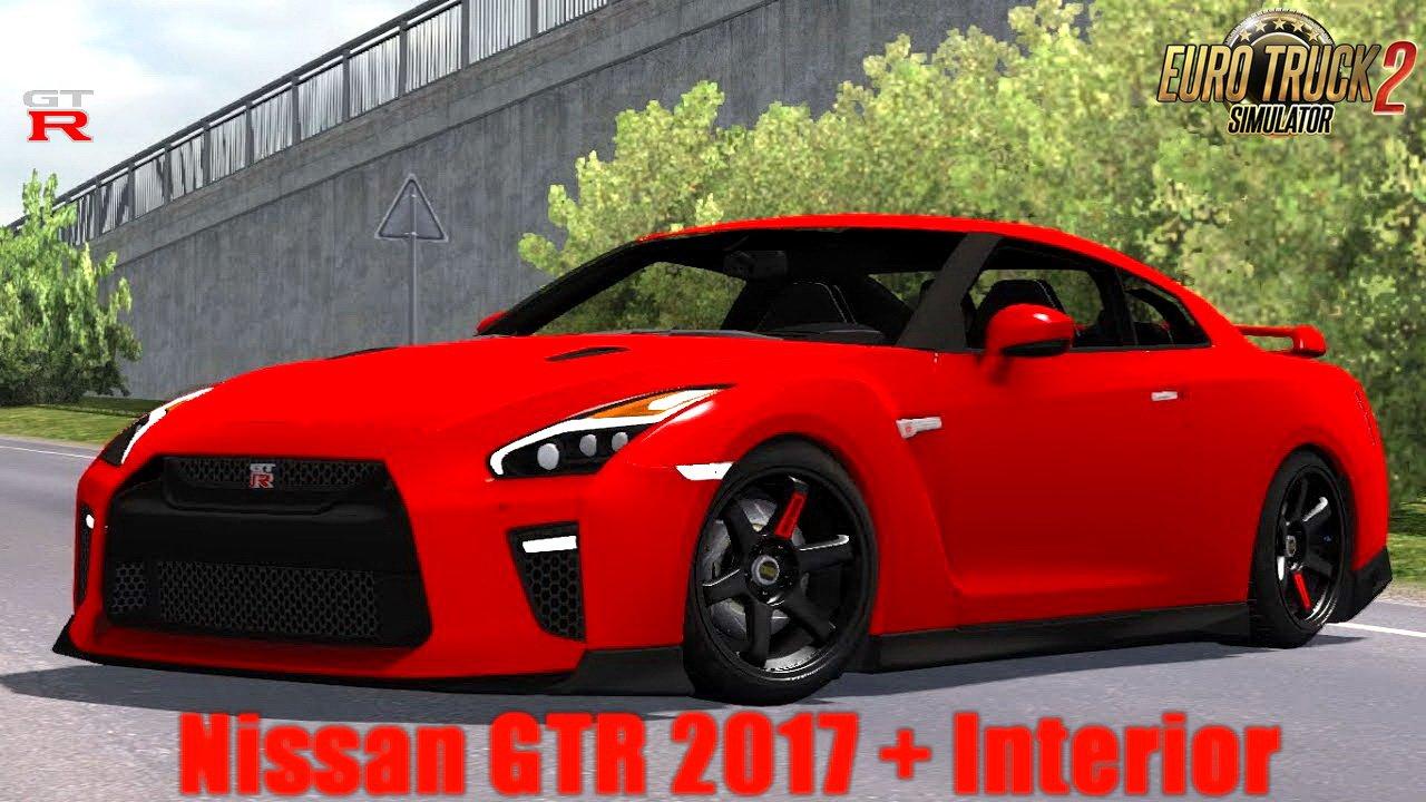 Nissan Gtr 2017 >> Nissan Gtr 2017 By Kadiryagiz 1 30 X Ets2 Mods Euro