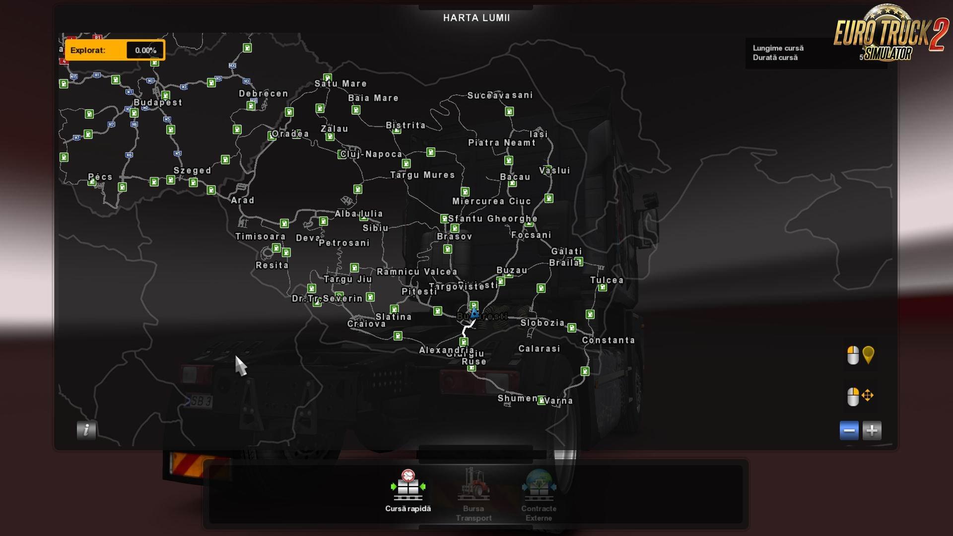 Euro Truck Simulator 2 Mods Romania Map V 2 0 Euro Truck