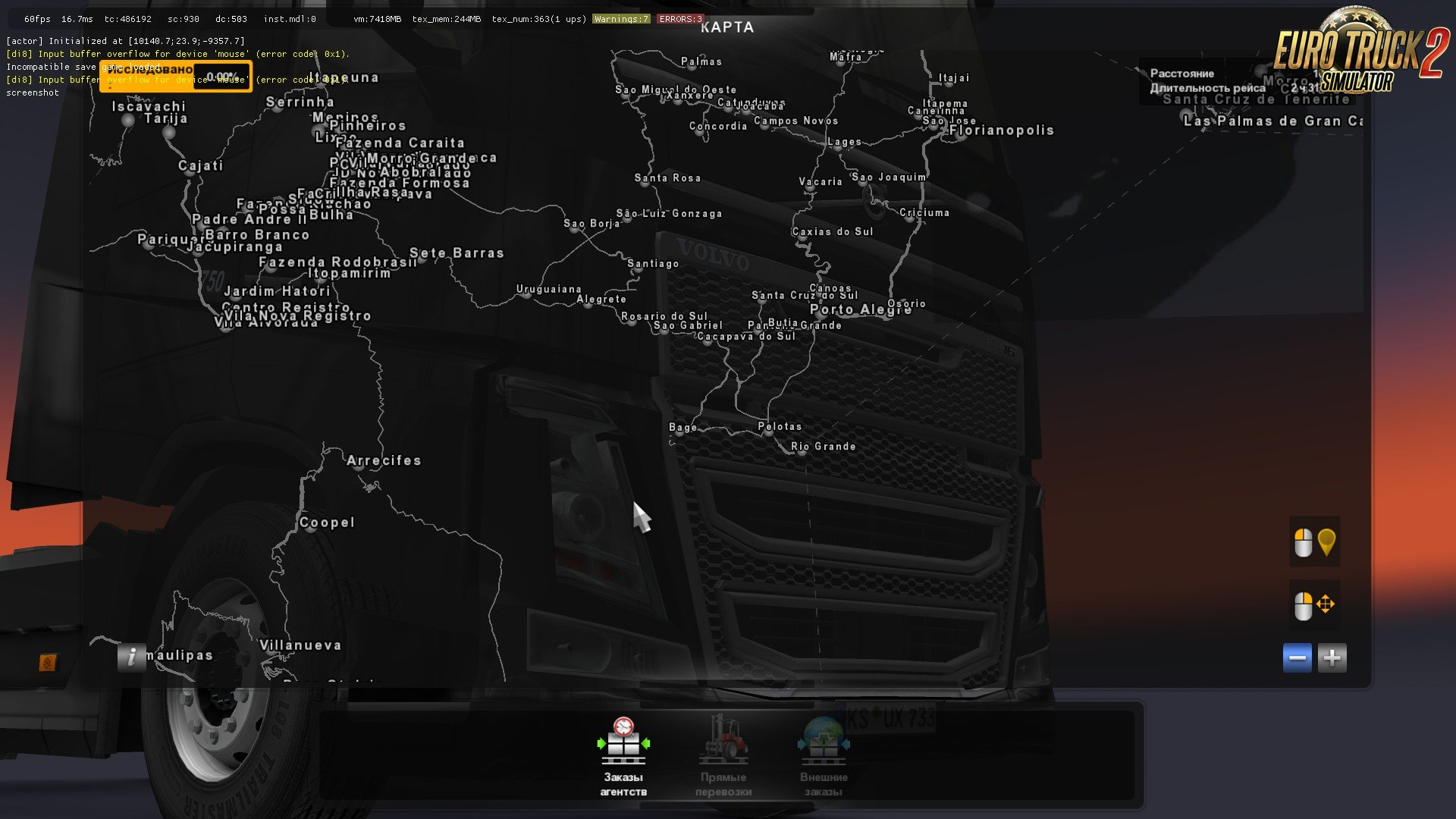 euro truck simulator europe map download