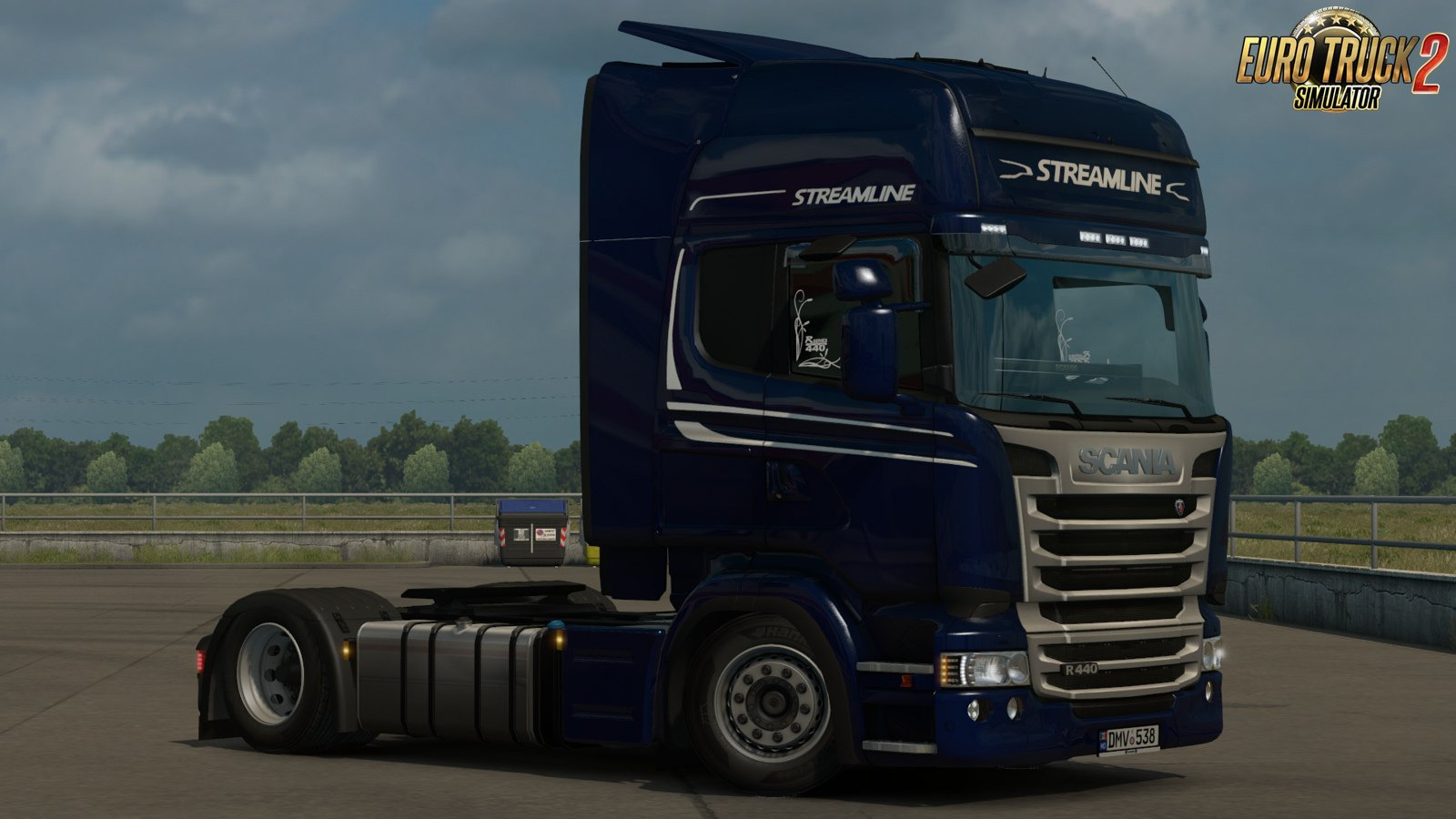 Low deck improved chassis for rjls scania rs r4 pg v1 3 for euro truck simulator 2 new changelog in v1 3 fix for new update of pg series