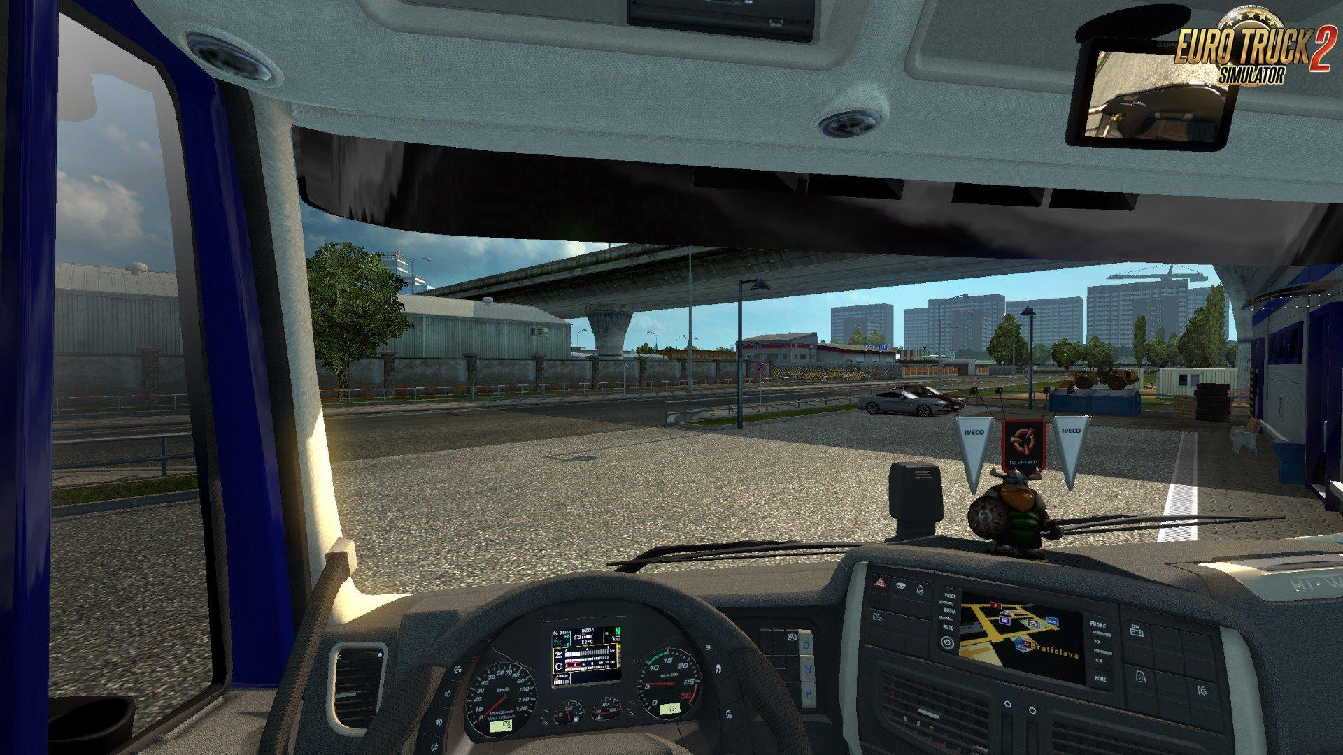 Front camera v1 1 1 31 x   ETS2 mods   Euro truck simulator
