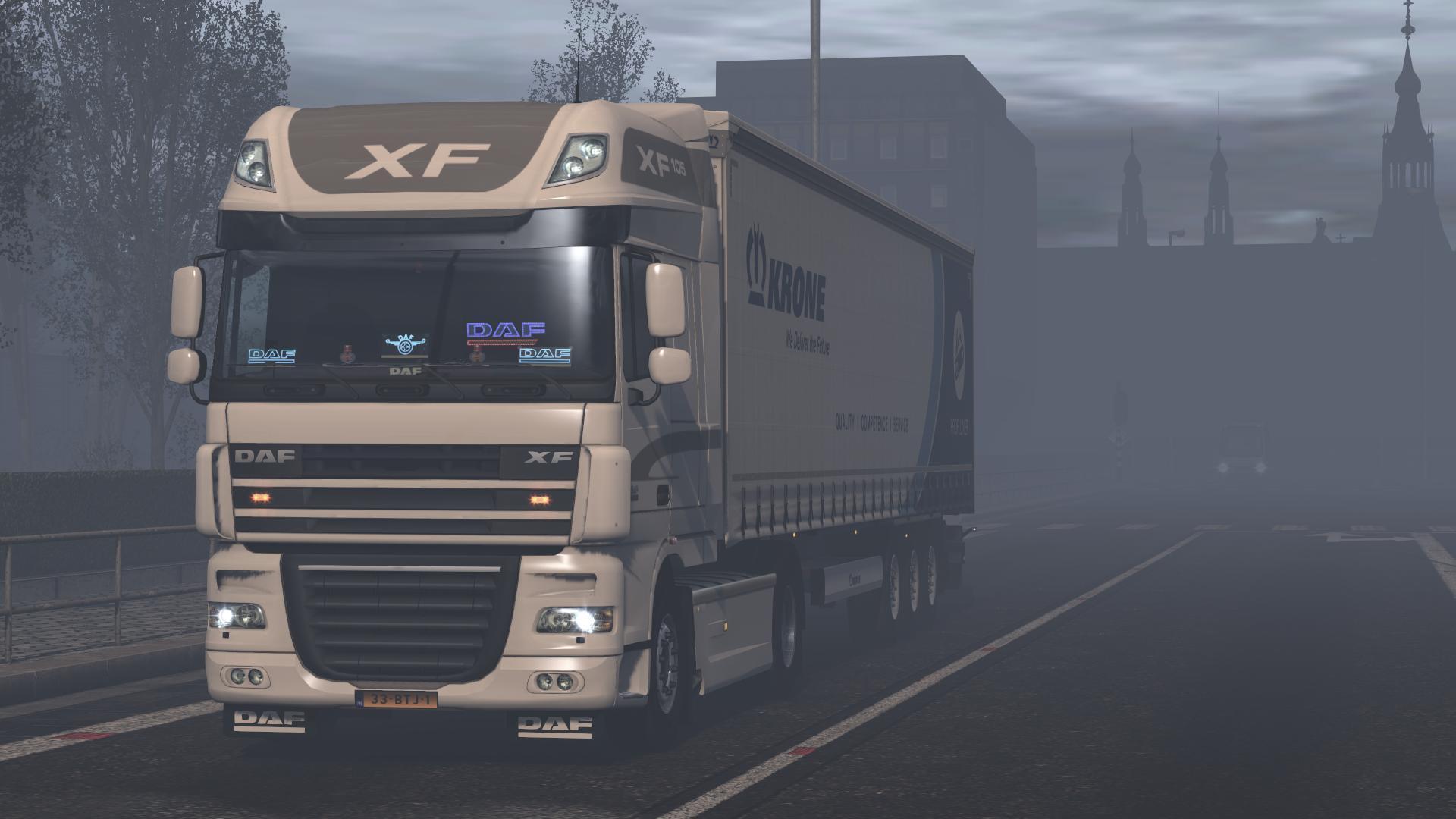 HQQ RAIN MOD 1 35 2 0 0 | ETS2 mods | Euro truck simulator 2
