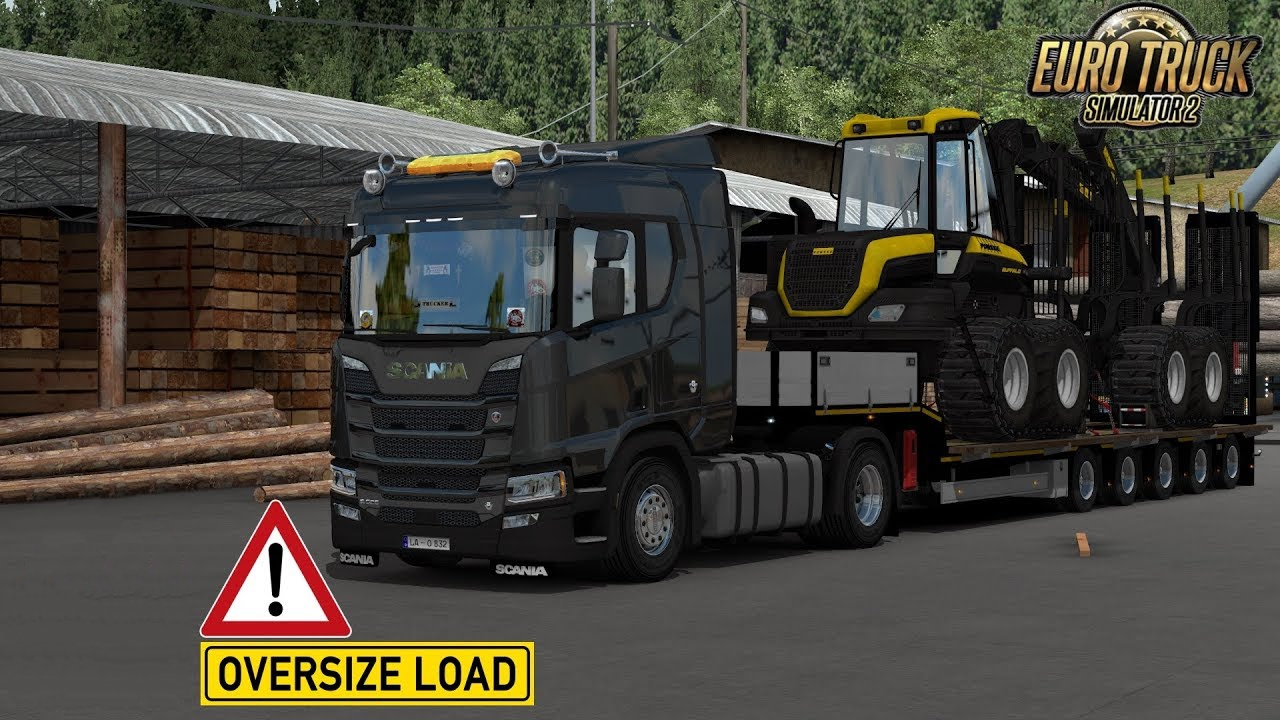 Ownable Trailer Doll Panther v1 0 1 33 x | ETS2 mods | Euro truck