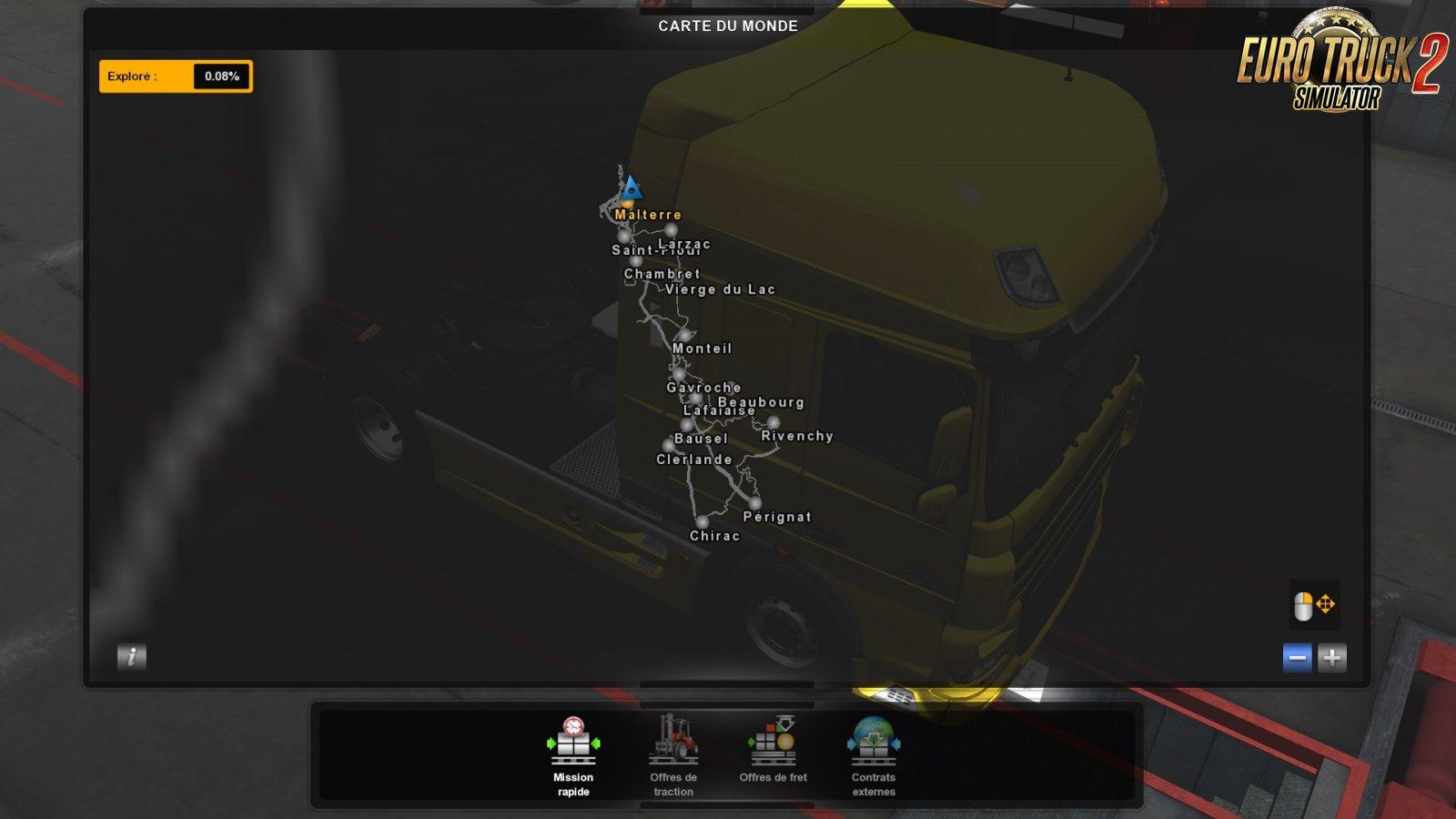 Grand Utopia Map v1 5 (1 35 x) | ETS2 mods | Euro truck