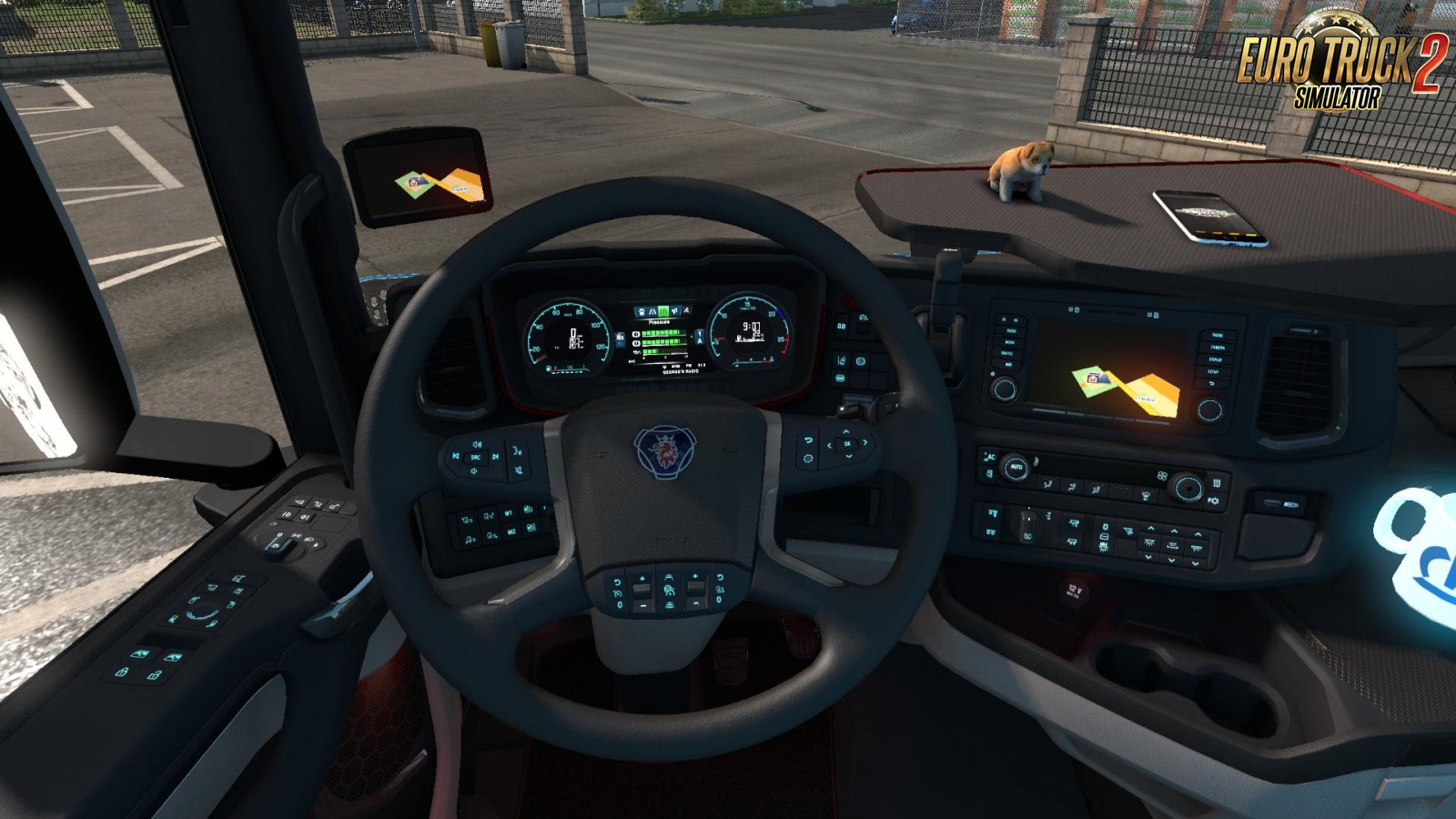 Dashboard lights for Scania S 2016 [1 34 x] | ETS2 mods