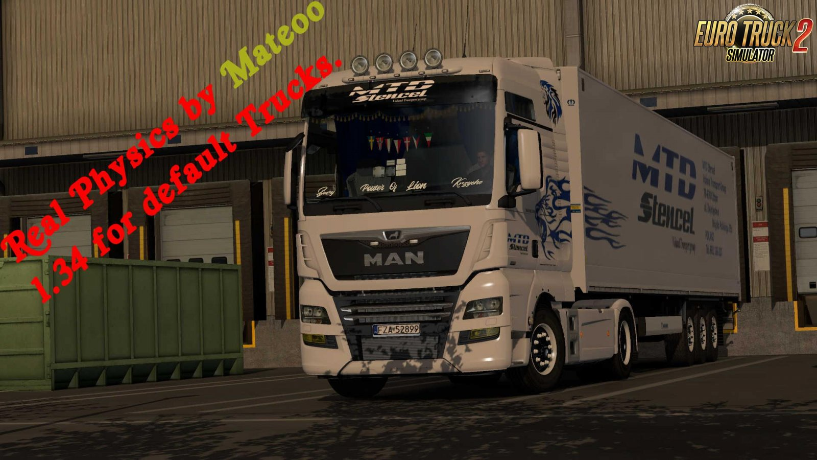 Real Physics by Mateoo 1.34.x | ETS2 mods | Euro truck simulator 2 mods - ETS2MODS.LT