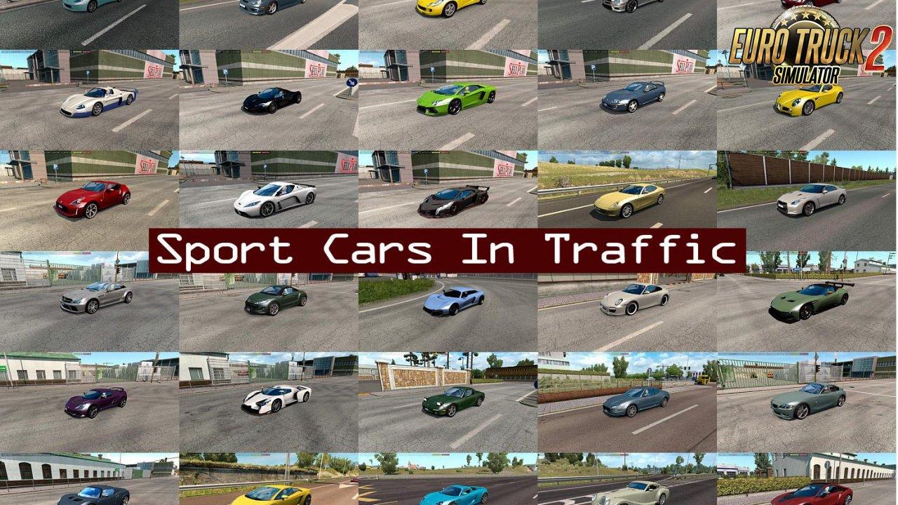 Sport Cars Traffic Pack v3 8 1 by TrafficManiac (1 35 x