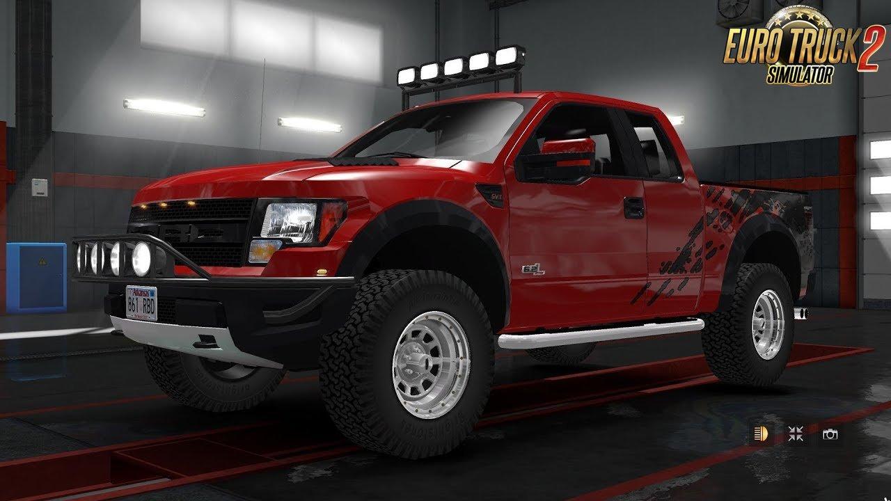 Ford F 150 Raptor Svt Interior V2 3 1 34 X Ets2 Mods Euro Truck Simulator 2 Mods Ets2mods Lt