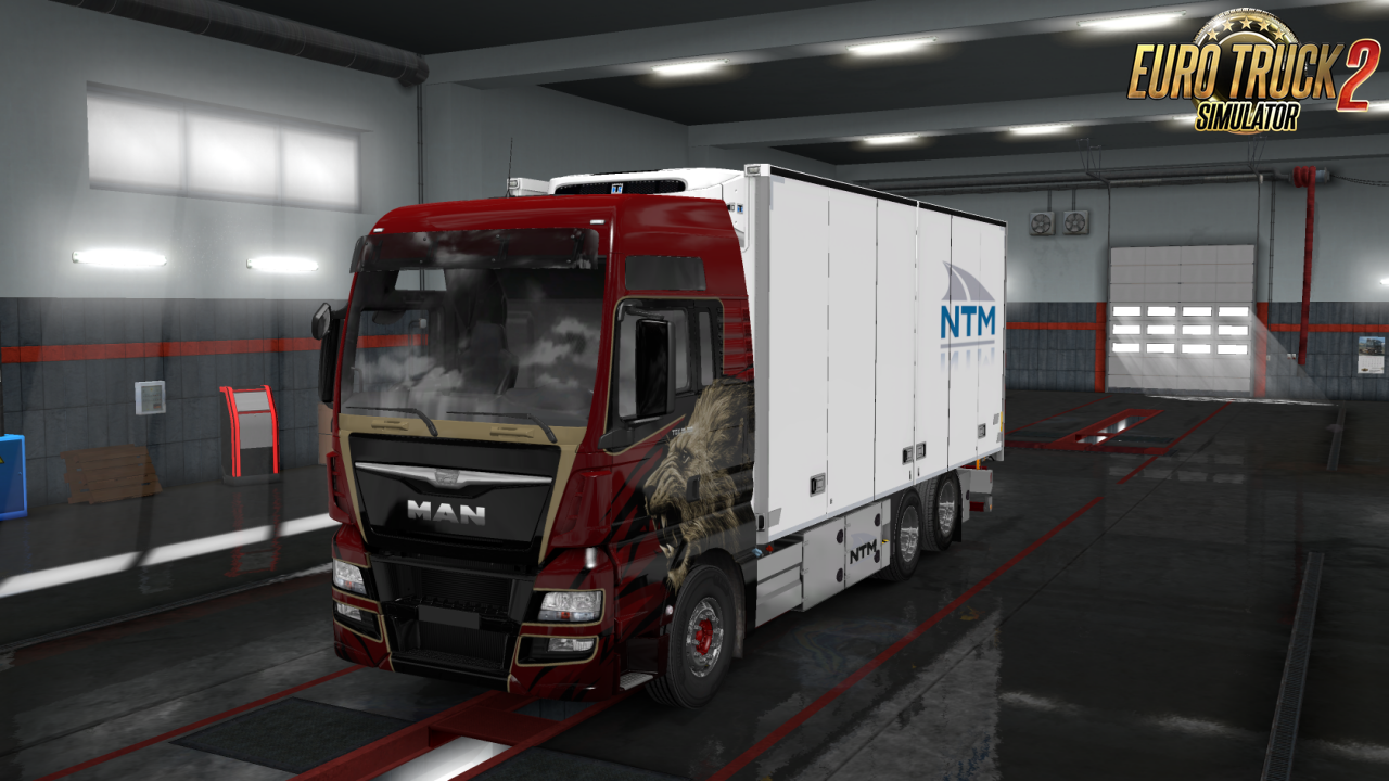 Rigid Chassis for all SCS Trucks v1 0 1 35 x | ETS2 mods