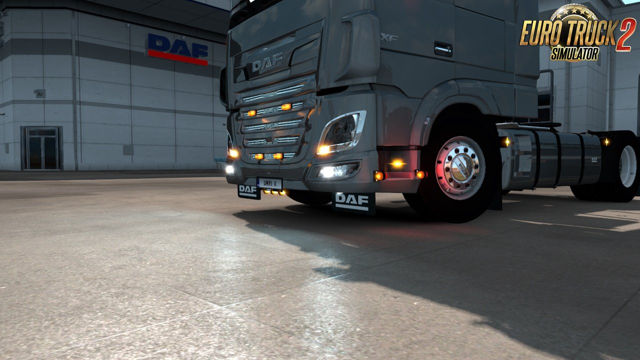 Addons for Schumi's DAF XF106 v2 0 [1 35 x] | ETS2 mods