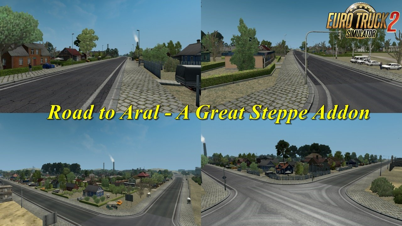 Road to Aral - A Great Steppe Addon v1 1 1 35 x | ETS2 mods