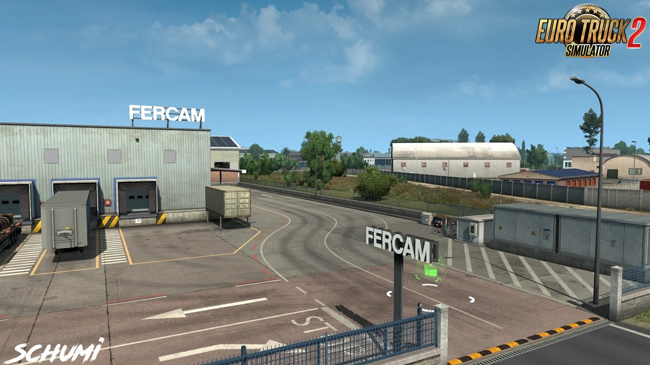 Real Company Logos v0.9 by Schumi 1.35.x | ETS2 mods | Euro truck simulator 2 mods - ETS2MODS.LT