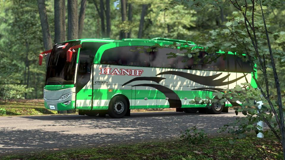 Jet Bus   Hanif Bangladeshi Skin (1.27)   ETS2 mods   Euro truck simulator 2 mods - ETS2MODS.LT