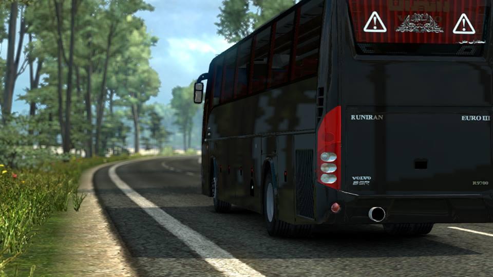 Volvo B9R I Shift (1.27)   ETS2 mods   Euro truck simulator 2 mods - ETS2MODS.LT
