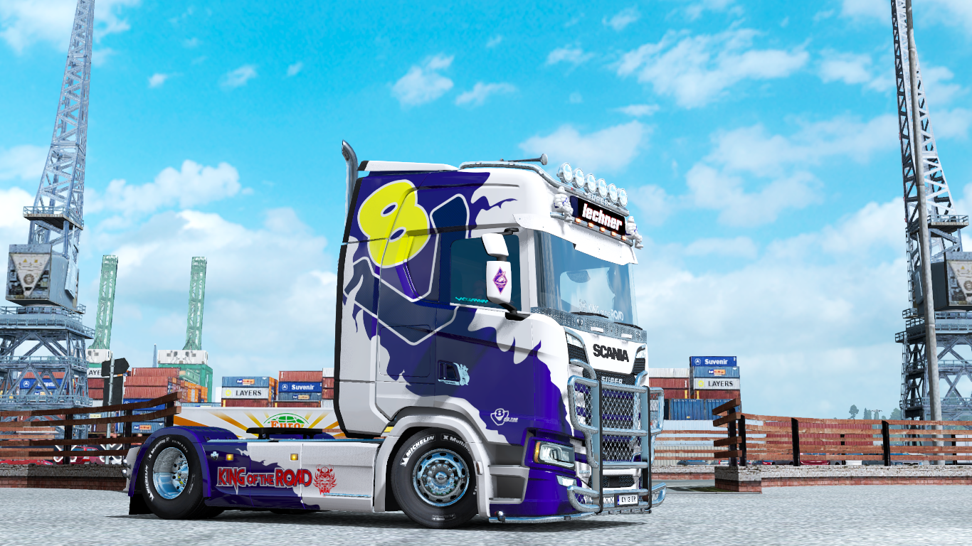 Lechner king of the road paintjobs