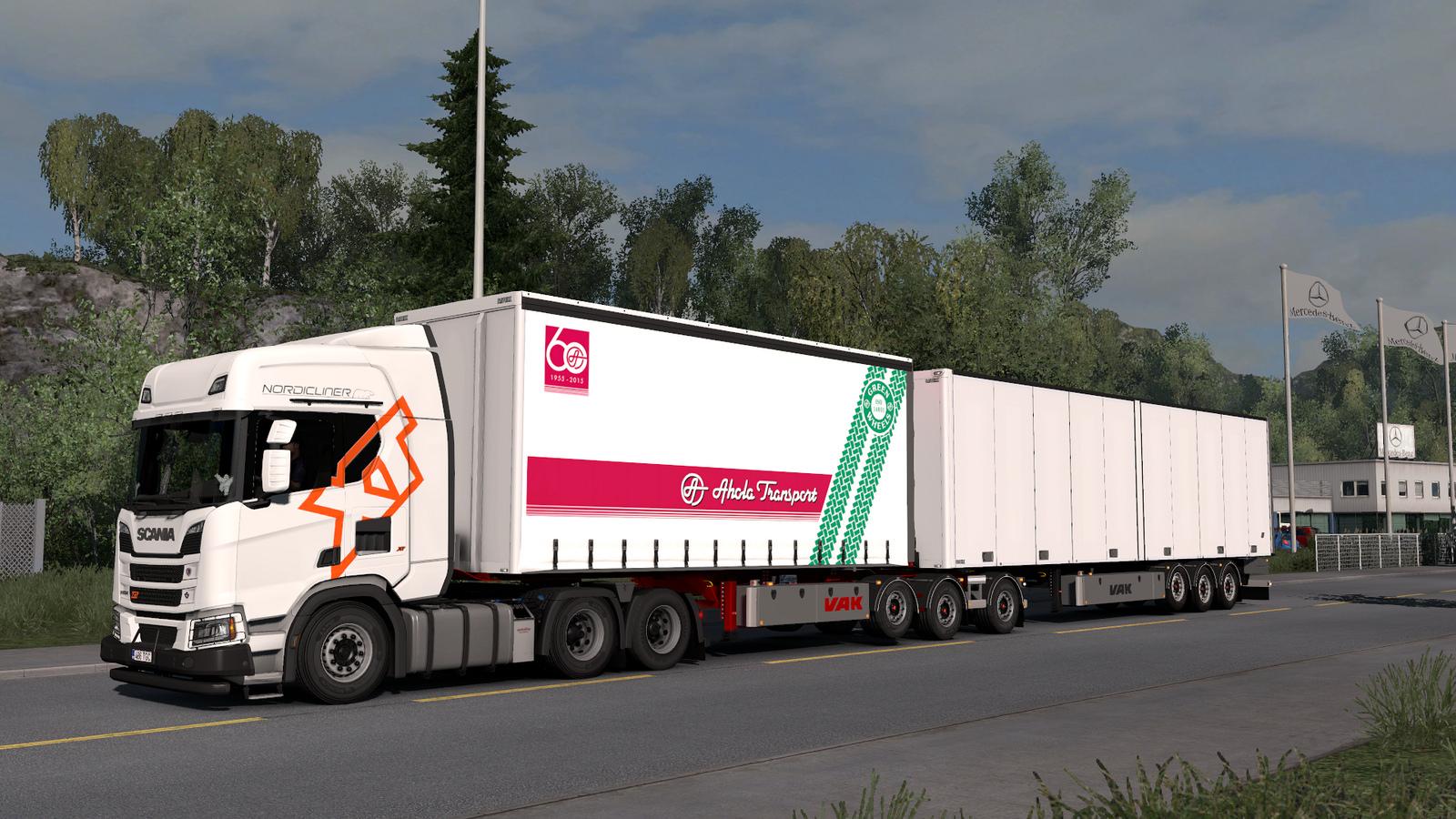 Vak Trailers By Kast V22 Ets2 Mods Euro Truck Simulator