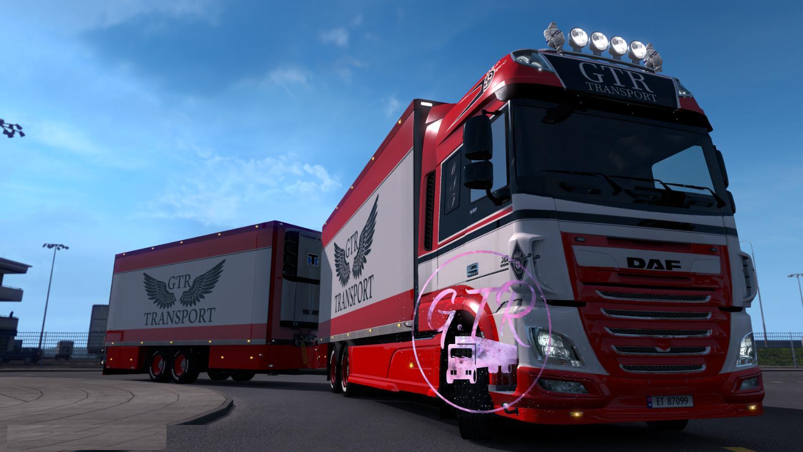 DAF XF EURO 6 TANDEM 1 33 X | ETS2 mods | Euro truck
