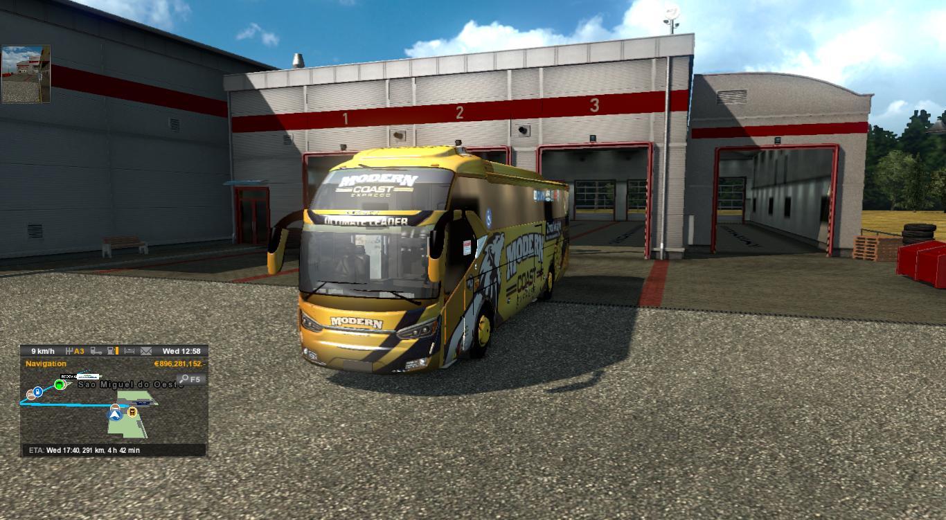 LEGACY SKY SR2 [1 28 - 1 30]   ETS2 mods   Euro truck