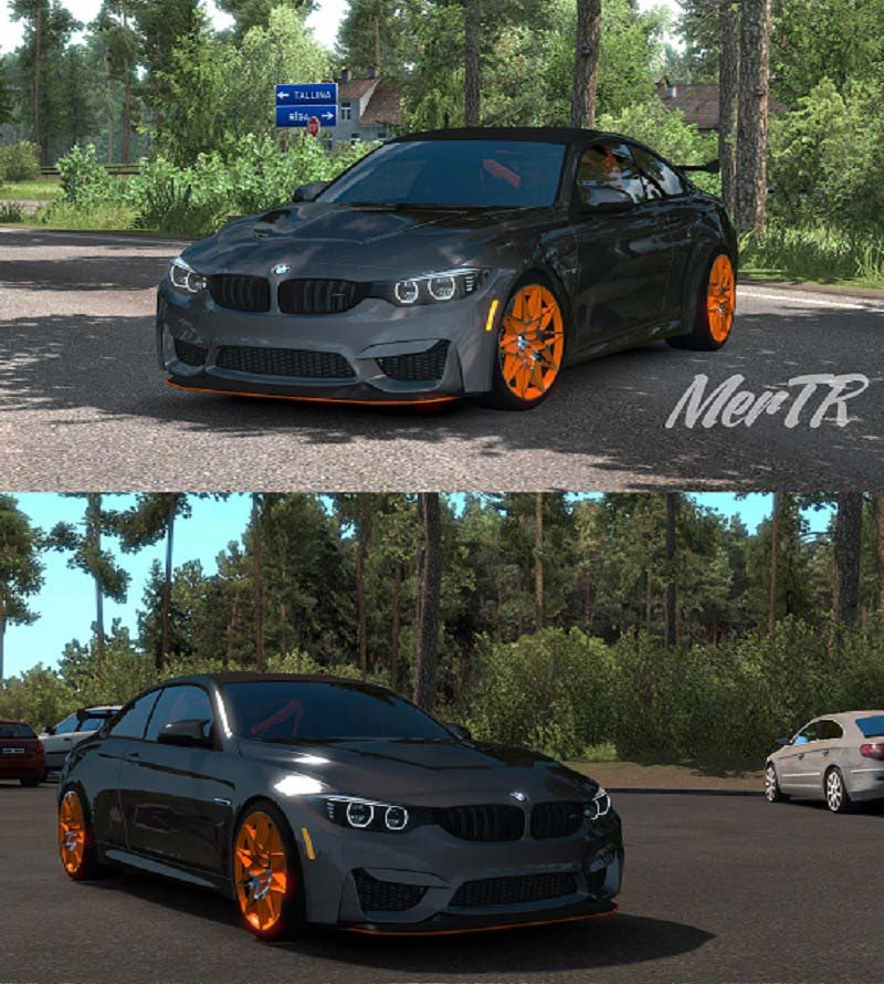 Bmw M4 Gts Coupe Rwd 2016 Ets2 Mods Euro Truck Simulator 2 Mods