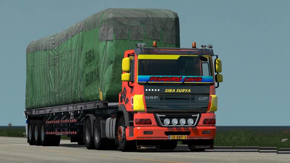 DAF CF 1 31 X - 1 32 X | ETS2 mods | Euro truck simulator 2