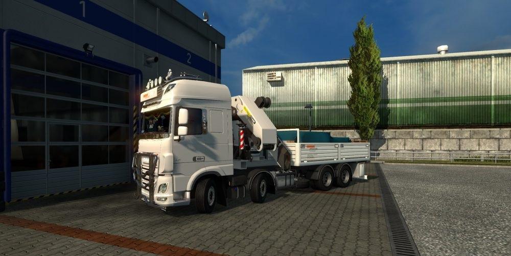 DAF XF 106 Rigid by XBS v 1 1 | ETS2 mods | Euro truck simulator 2