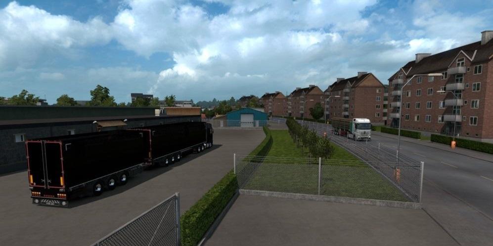 Europe Open Map v3 2 1 32 x | ETS2 mods | Euro truck