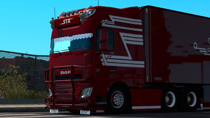daf xf 106 ets2 mods euro truck simulator 2 mods ets2mods lt. Black Bedroom Furniture Sets. Home Design Ideas