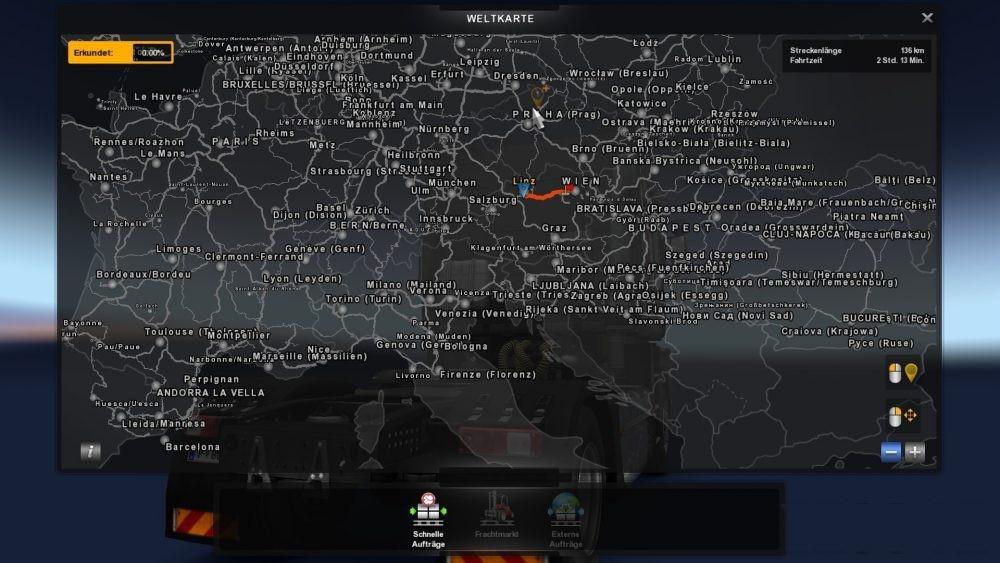 German City Names v 1 0 for Promods 2 20 | ETS2 mods | Euro truck