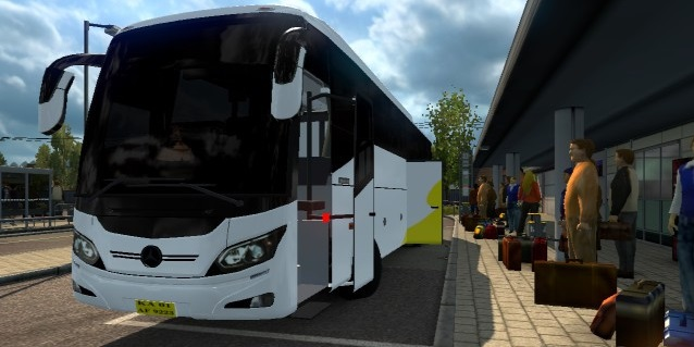 Mercedes Benz Bus from India (1 30 x) | ETS2 mods | Euro