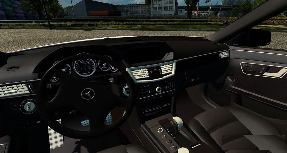 mercedes e64 amg ets2 mods euro truck simulator 2 mods ets2mods lt. Black Bedroom Furniture Sets. Home Design Ideas