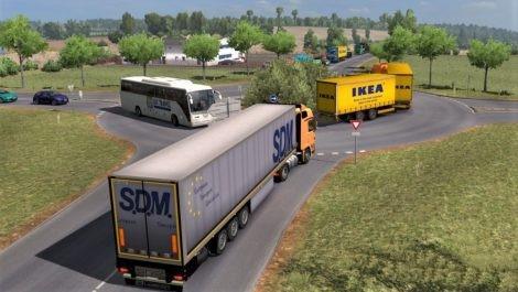 Real Traffic Density v2 4 by Cip [1 31 x] | ETS2 mods | Euro