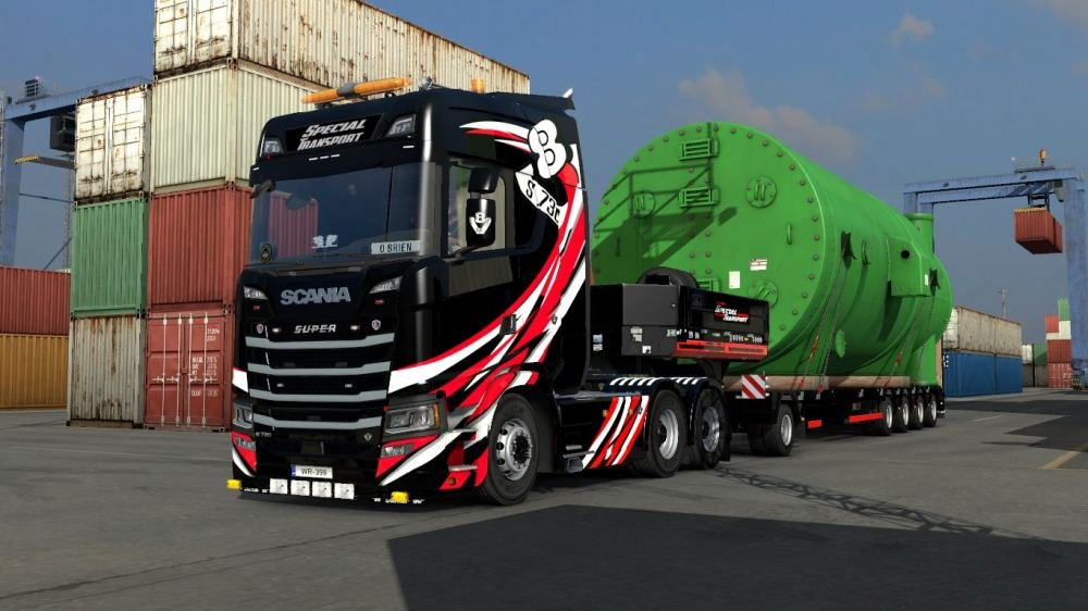 Skinable Special Transport (1 35 x) | ETS2 mods | Euro truck