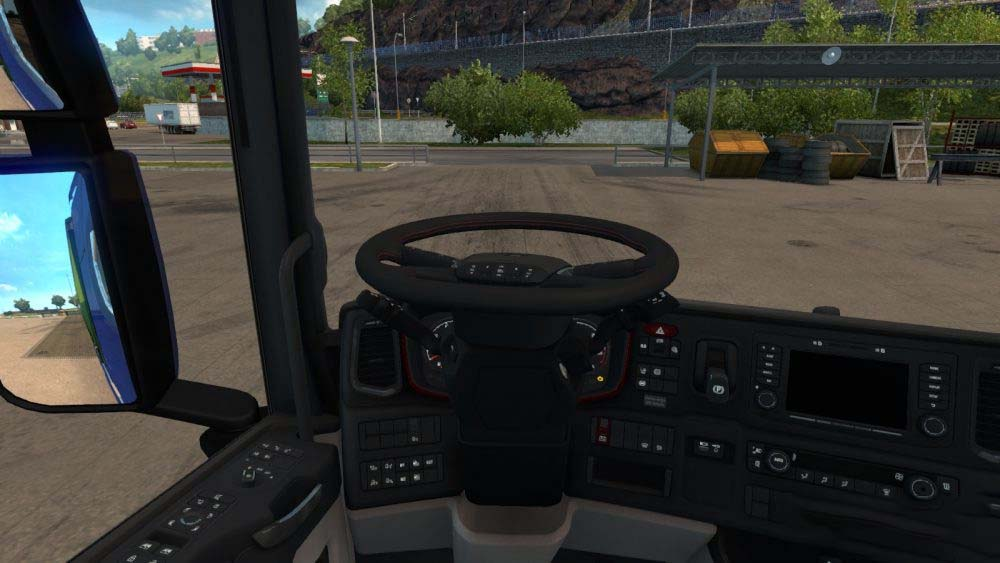 Ets2 Mods Steering Wheel, This Mod Adds A Animated Steering Wheel And Steering Animation When Starting The Engine For All Scs Trucks Adapted For  31, Ets2 Mods Steering Wheel