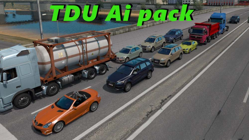 TDU Traffic Pack ETS2 1 33 edit by Cip | ETS2 mods | Euro