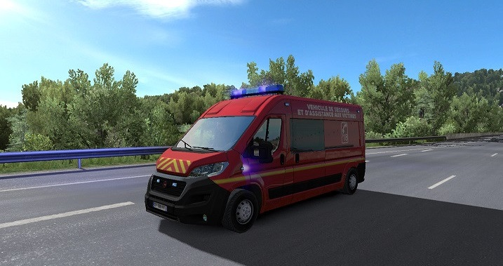 Traffic Mod v6 1 by Piva [1 31 x] | ETS2 mods | Euro truck