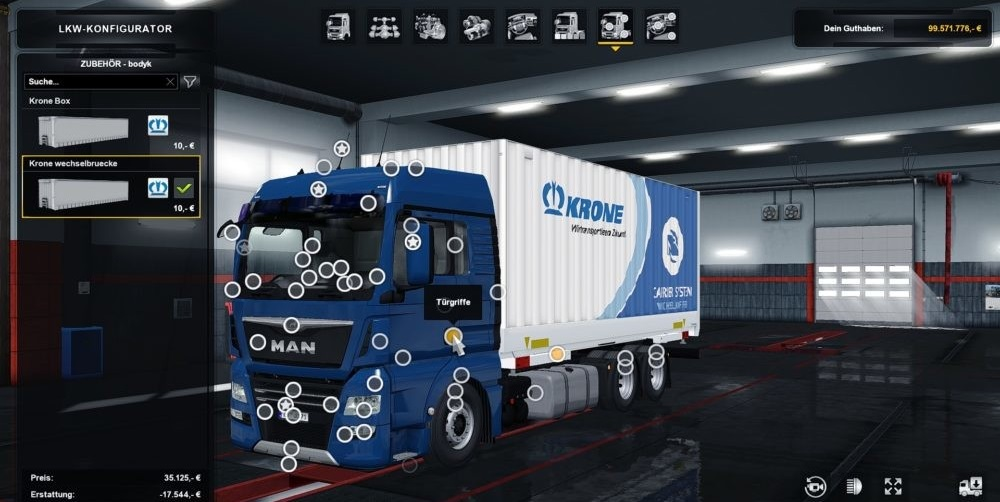 man tgx e6 madster superstructure addon 1 33 x