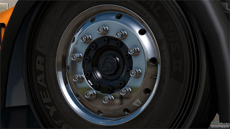 American truck simulator racing wheel