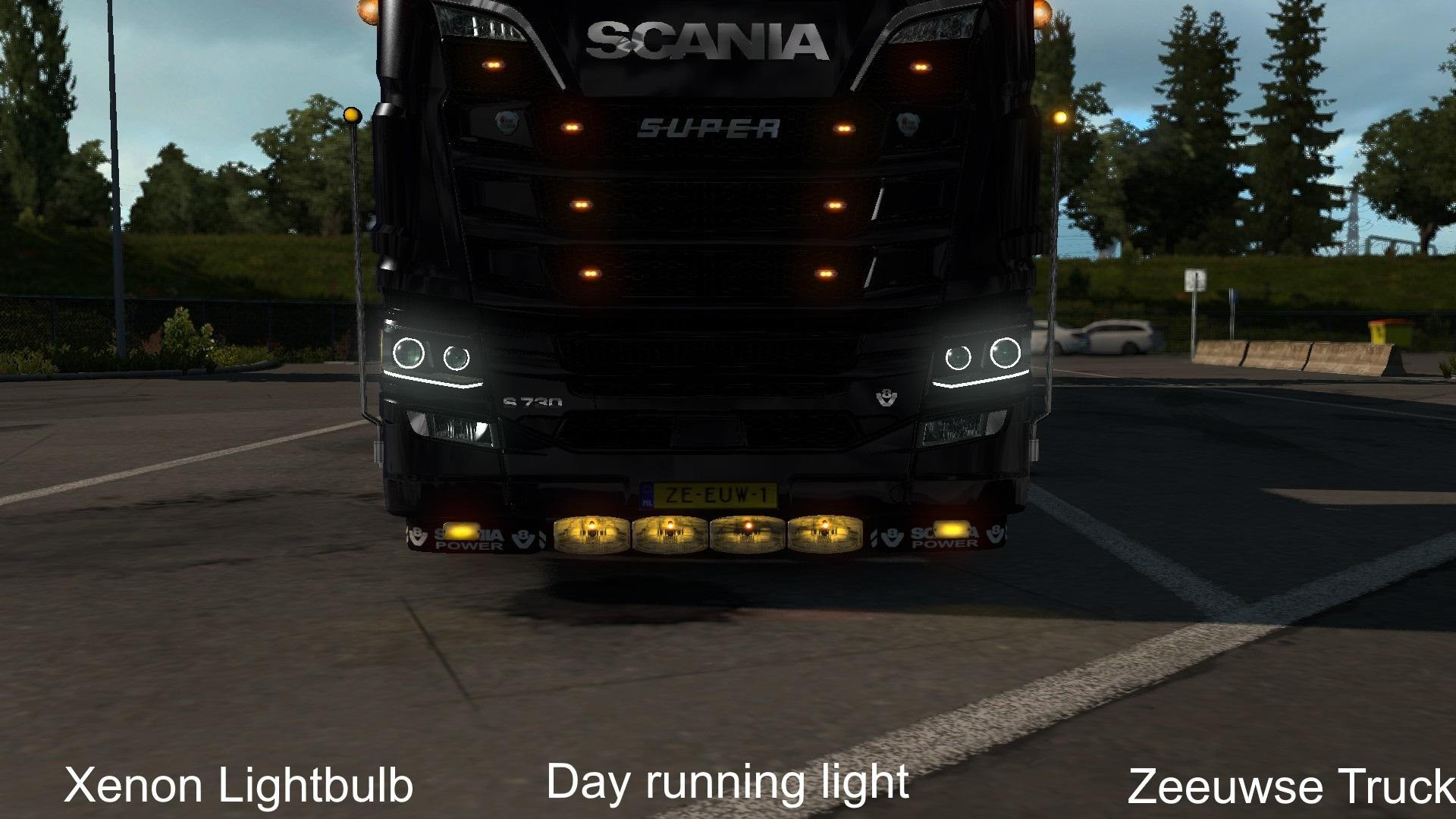Accessoiries for Scania R/S 2016 1 33 | ETS2 mods | Euro truck