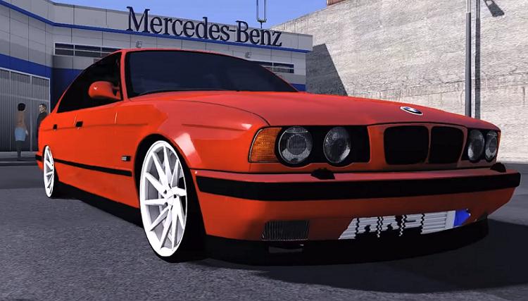 BMW M5 E34 v2 0 [1 30 x] | ETS2 mods | Euro truck simulator 2 mods