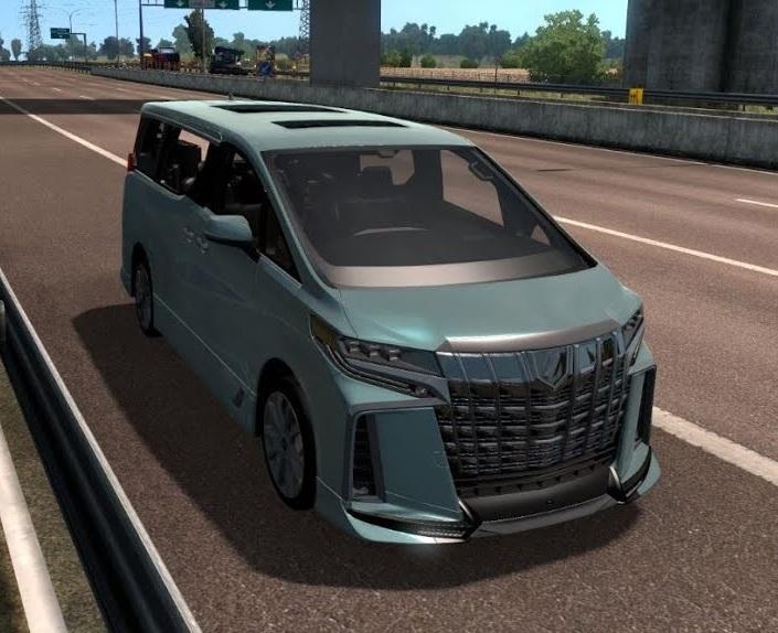 Toyota Alphard Trd V0 0 1 1 39 Ets2 Mods Euro Truck Simulator 2 Mods Ets2mods Lt