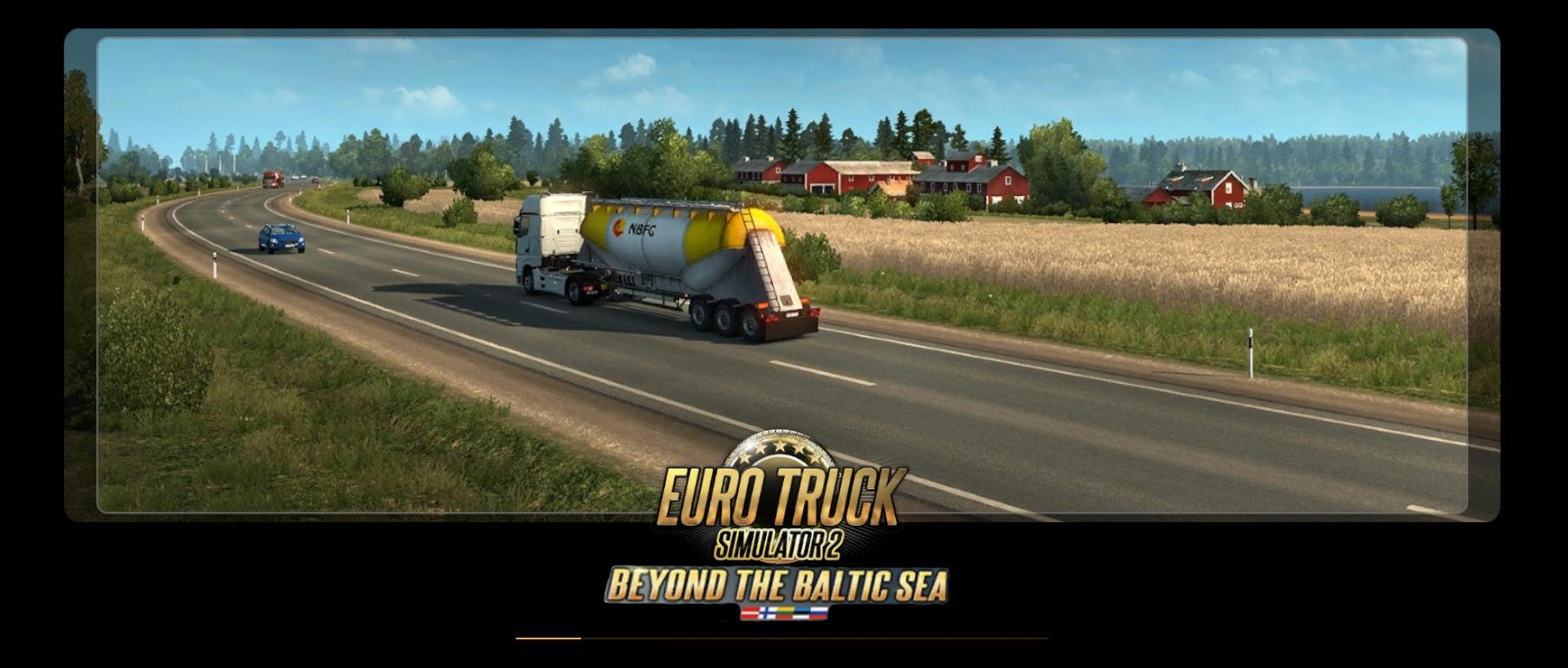 Beyond the Baltic Sea Loading Screens Pack | ETS2 mods