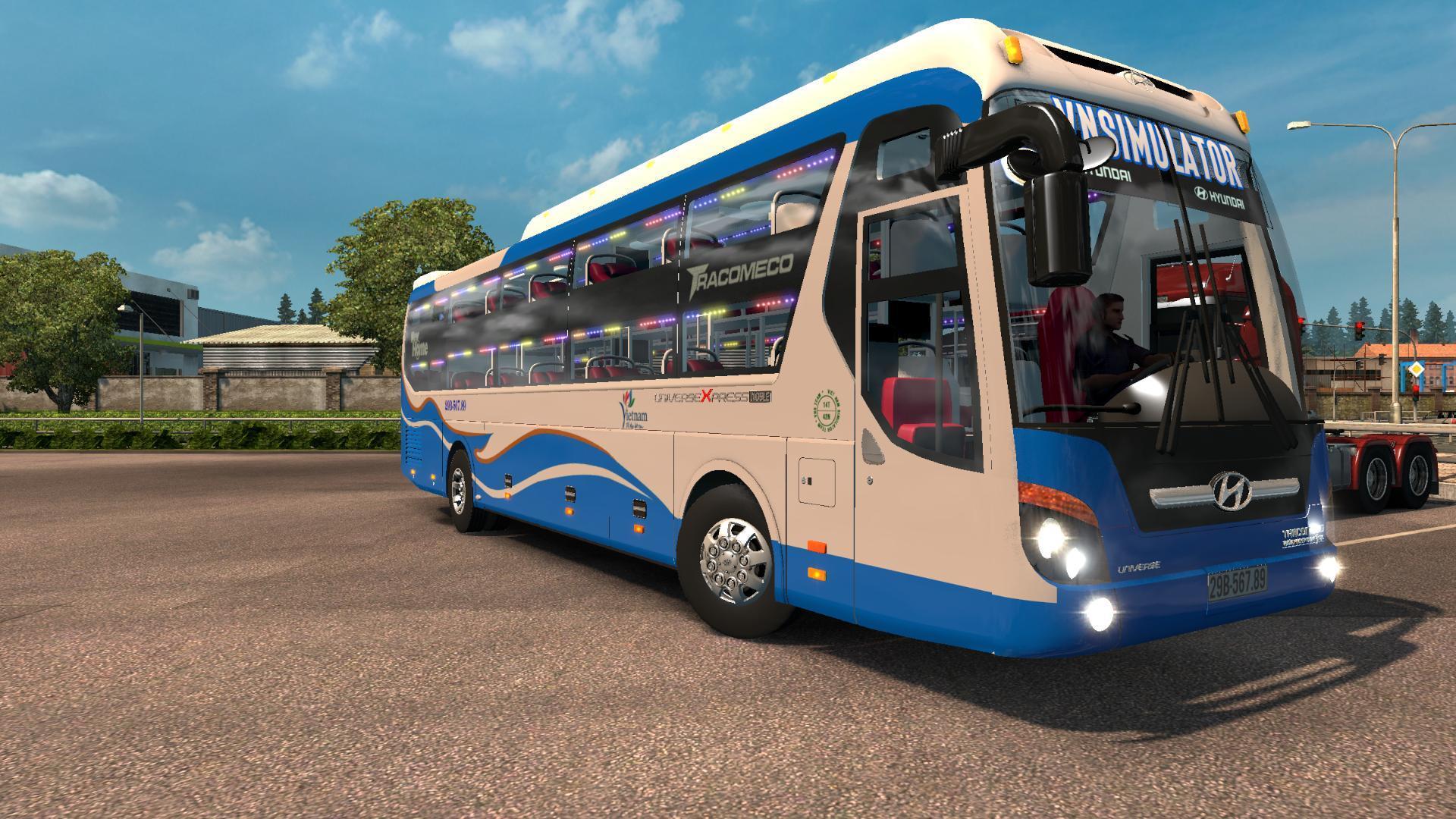 bus hyundai universe noble v3 1 ets2 mods euro truck simulator 2 mods ets2mods lt. Black Bedroom Furniture Sets. Home Design Ideas
