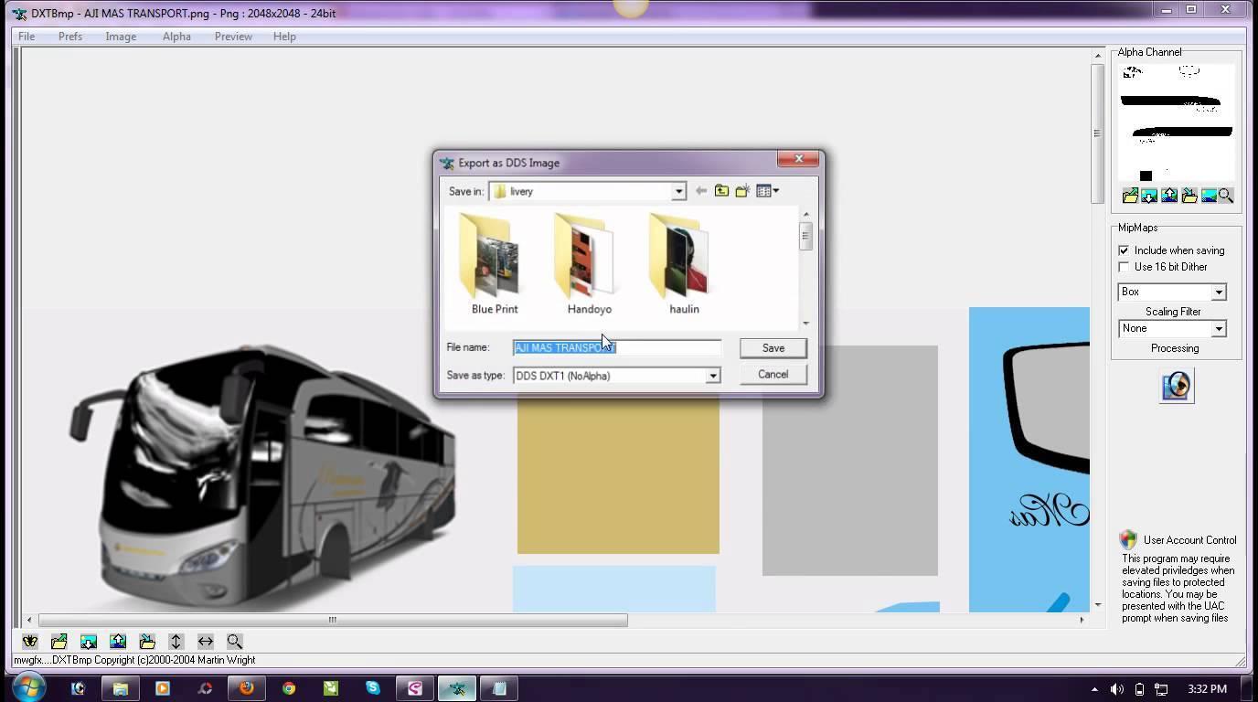 DXTBmp (dds mod tools) | ETS2 mods | Euro truck simulator 2